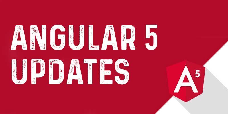 Angular 5 Updates